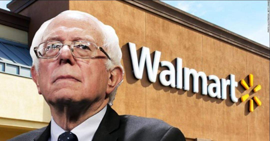 Bernie Sanders confronts Walmart leaders at annual